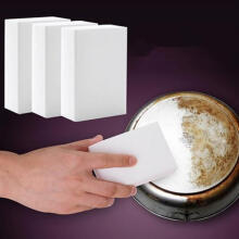 Farfi White Magic Sponge Eraser Cleaner Home Office Car Dust Cleaning Tool as the pictures