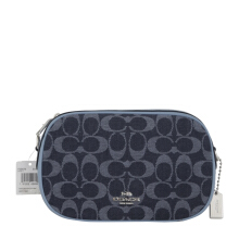 COACH F25878 Isla Chain Xbody Denim [COA01854B] Blue