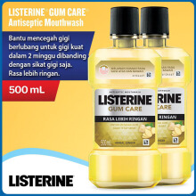 LISTERINE Mouthwash Gum Care 500ml - Bundling 2pcs