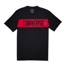 CONVERSE Star Block Tee - Black