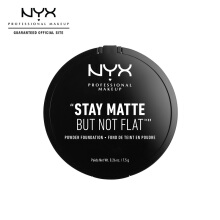 NYX Professional Makeup Stay Matte But Not Flat Powder - Nude