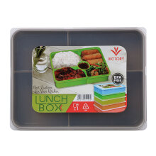 VICTORYHOME Lunch Box 1600ml - Brown