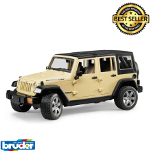 Bruder 2525 - JEEP Wrangler Unlimited Rubicon Cream