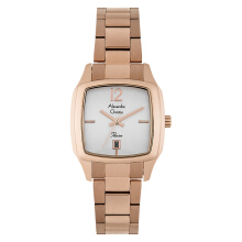 Alexandre Christie AC 2454 LD BRGSL Passion Ladies Silver Dial Rose Gold Stainless Steel [ACF-2454-LDBRGSL]