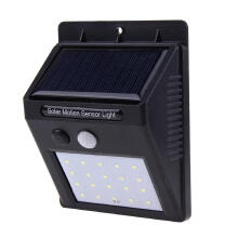 REFURBISHHOUSE 20LEDs Waterproof Solar Light PIR Motion Sensor Wall Lamp Outdoor Garden Street Security Yard Path Home Energy Saving Lamp
