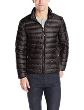 TUMI Patrol Packable Travel Puffer Jacket (TUMI Pax) - Black