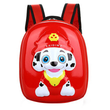 Huitong cartoon EVA hard shell bag cute puppy Wang Wang team children's bag