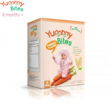 Yummy Bites Baby Rice Cracker 50 gram (Carrot)