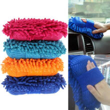 Farfi Ultrafine Fiber 8-Shape Sponge Window Glass Car Washer Tool Cleaning Glove as the pictures
