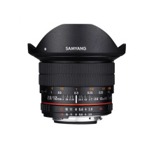 Samyang 12mm F2.0 NCS CS Fisheye Manual Focus For Canon EOS M Black