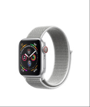 Apple Watch Series 4 GPS 40mm Silver Seashell Sport Loop