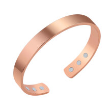 [OUTAD] Unisex Magnetic Bracelet Pure Copper Energy Magnetic Healthy Care Bracelet Rose Gold