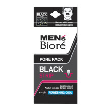 MEN'S BIORE Pore Pack Black - Isi 2 Strip