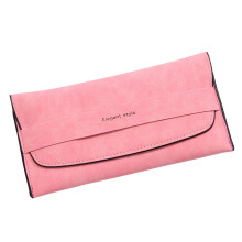 SiYing simple matte long wallet multicolor women's wallet