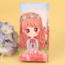 SiYing Korean version of cute creative cartoon long ladies wallet