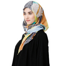 TATUIS Damour 077 Scarf - Brown [One Size]