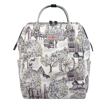 CATH KIDSTON London Toile Frame Backpack - Tas Wanita - Abu-abu Grey