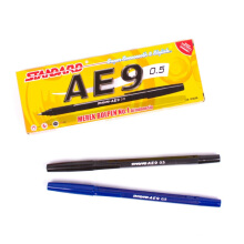 STANDARD Pen AE9 Black (1 Pack = 12 Pcs)