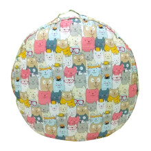 SLEEP MAX Floor Cushion - Cats / 65 x 65 cm