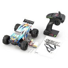COZIME PXtoys 9302 1/18 4WD RC Off-Road Vehicle High Speed Racing Car for Pioneer RTR Blue