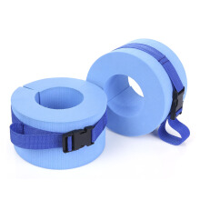 Shengmeiid Paired Exercise Swimming Weights Aquatic Cuffs Blue