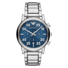 Emporio Armani Sport AR11132 Chronograph Blue Dial Stainless Steel Strap [AR11132]