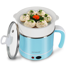 (QLT) QLT-6010B electric hot pot multi-function electric cup student dormitory electric cooker mini cooking pot