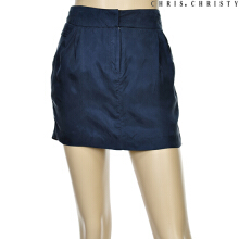 CHRIS CHRISTY woman natural pocket skirts NV (KCYDKMV0421)
