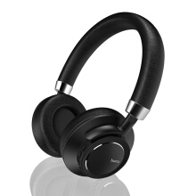 Vinmori W10 Bluetooth headphones With Microphone Wireless headset Noise Reduction Hi-Fi Black