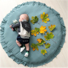 Jantens INS Diameter 100cm Nordic Lace children room decoration baby game blanket play mats