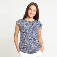 A&D Ms 1250 Slevelees Blouse - Blue