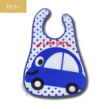 BLINGO BY03 Newborn baby feeding bib EVA waterproof cartoon food saliva apron
