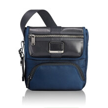 TUMI Alpha Bravo Barton Crossbody - Blue Navy