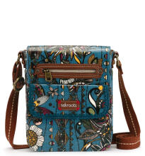 Sakroots Small Flap Messenger Sling Bag Lagoon Spirit Desert