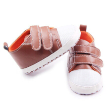 Saneoo Classic Prewalker Baby Shoes Brown 3-9bln