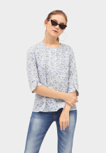 Point One SAMANTHA Boxy Blouse 358181