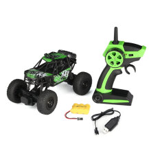 COZIME S-003 1/22 2.4G 2CH 2WD High Speed RC Off-Road Climbing Crawler Rally Car Green