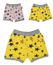 Toddler Boys Girls Cotton Shorts,2 Pack Shorts Kids
