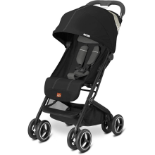 GB Qbit Plus Stroller Monument - Black
