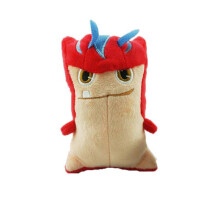 Anamode 4pcs/lot Action Figure Toys 15cm Monster Animal Model Mini Plush Dolls - Multicolor