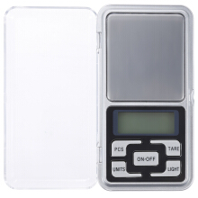 Anamode Mini Pocket Digital Scale Jewelry Scales Balance Gram Electronic Scales - Silver