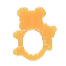 [kingstore] Infant Baby Teether Non-toxic Nano Silver Silica Gel Dental Care Bite Toys Orange