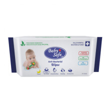 BABY SAFE Food Grade Antibacterial Wipes 50s BWP50