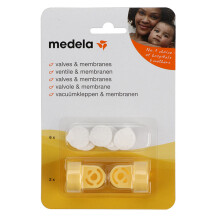 Medela The Overflow Valve + Spill-resistant Membrane Set for Breast Pump Accessories