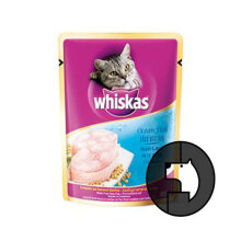 WHISKAS 85 gr adult ocean fish