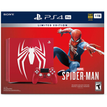 SONY Playstation 4 Pro 1TB Limited Edition Marvel's Spider-Man Bundle - Reg 3 Asia