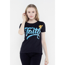 FBW Faith Female T-Shirt - Hitam