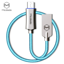 MCDODO CA - 289 Knight Series QC 3.0 Micro USB 3A Fast Charging Auto Disconnection Data Sync Cable with Flashlight 1M