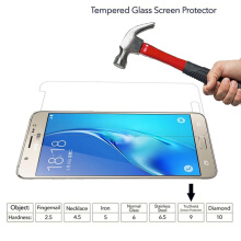 VOUNI tempered glass Samsung Galaxy J5 2016 shockproof screen protector Transparan