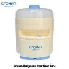Bebikita Crown Electric Steam Sterilizer Isi 6 Botol - Biru